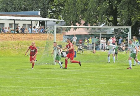 FC Energie Cottbus gegen SG Groß Gaglow