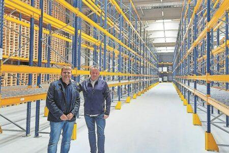 Neuer Logistik-Standort in Krieschow