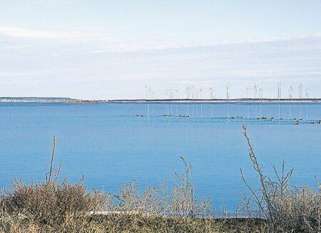 Windräder machen Cottbuser Ostsee zum umweltschonenden Kraftquell
