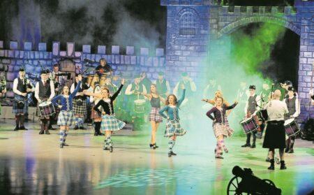 Schottische Musikparade besucht Cottbus – Das Original aus Edinburgh