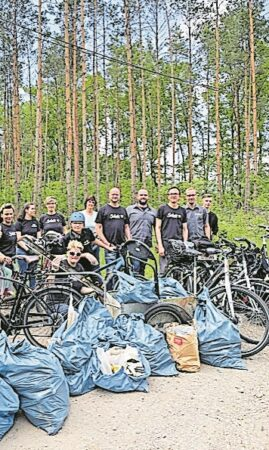 Cottbuser E-Center Scholz hilft bei Umweltschutz