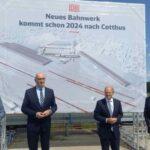 Neues Bahnwerk kommt früher nach Cottbus