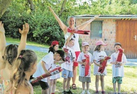 Großräschener Kita feiert Zuckertütenfest