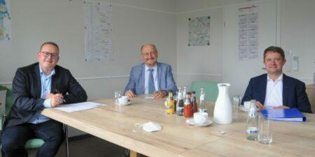 CDU Landestagsabgeordneter besucht KWG in Senftenberg