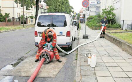 LWG nutzt schnellere Sanierungsmethode