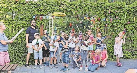 Zuckertütenfest in Lauchhammer Kita