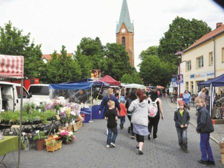 Stadtfest zum Großräschener Jubiläum