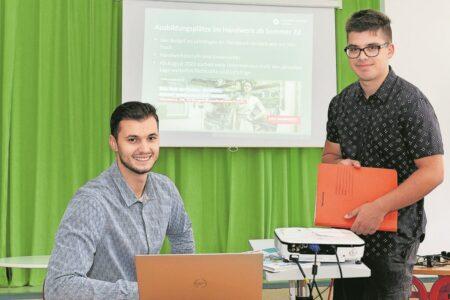 Handwerk begeistert Senftenberger Schüler