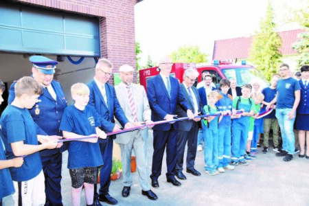 Neuer Feuerwehrhof für Dissen-Striesow