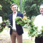 Pücklers Rehgarten im Branitzer Park wieder hergestellt
