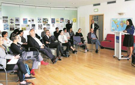 Kulturschaffende stellenProjekte bei Ideenwettbewerb in Großräschen vor