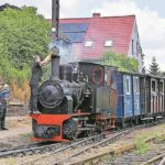 Mit viel Dampf und Ostsee-Wind mit der Cottbuser Parkeisenbahn ins Einheitstags-Wochenende
